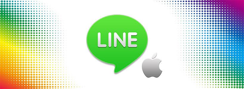 скачать line для айфон