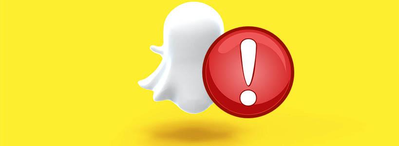 Что делать, если не работает Snapchat