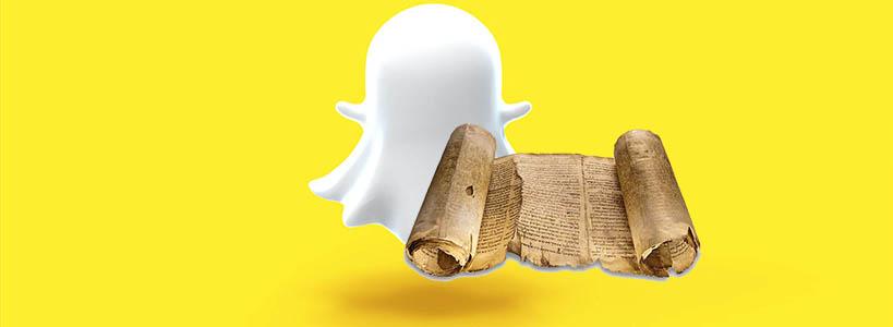 История Snapchat