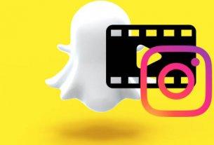 Как из Snapchat добавить видео в Инстаграм