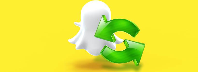 как обновить snapchat