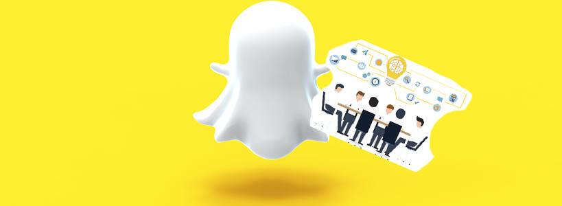 как работает snapchat