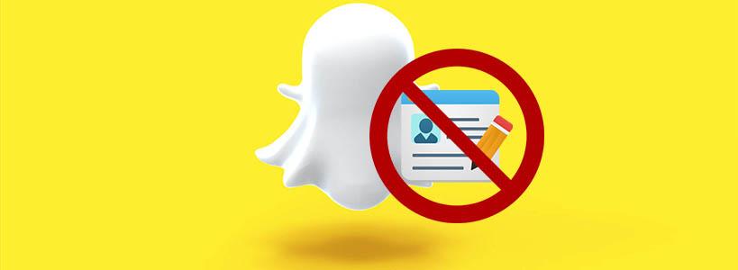 Snapchat без регистрации