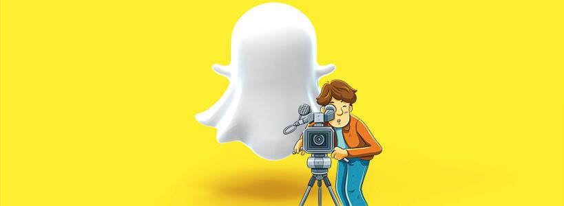 snapchat как снять видео
