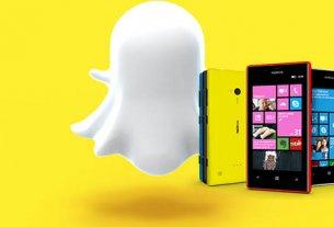 Snapchat на Lumia