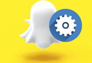 snapchat настройки приложения