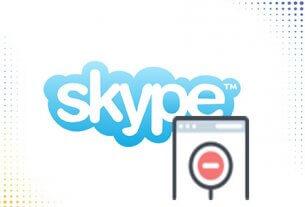 skype заблокировать контакт