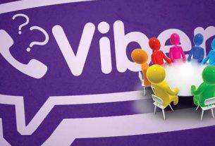 viber управление группами и чатами