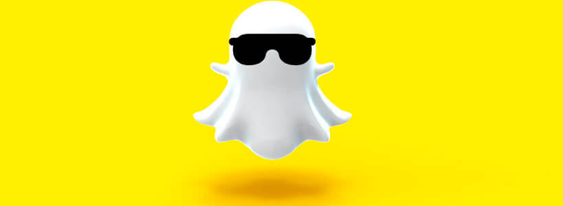 snapchat черные очки