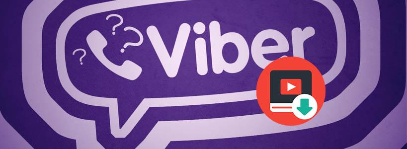 как скачать видео с viber
