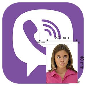 сменить фото в viber на айфон