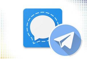 Сравниваем signal и telegram