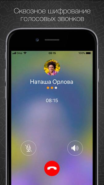 сквозное шифрование голосовых звонков в Threema