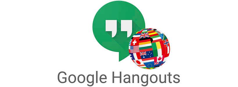Как переводится Hangouts